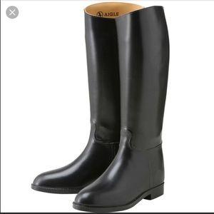 Aigle Shoes - Aigle Riding Rain Boots 38